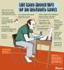 La dura vida de un troll de Internet #infografia #infograhic #sm #humor