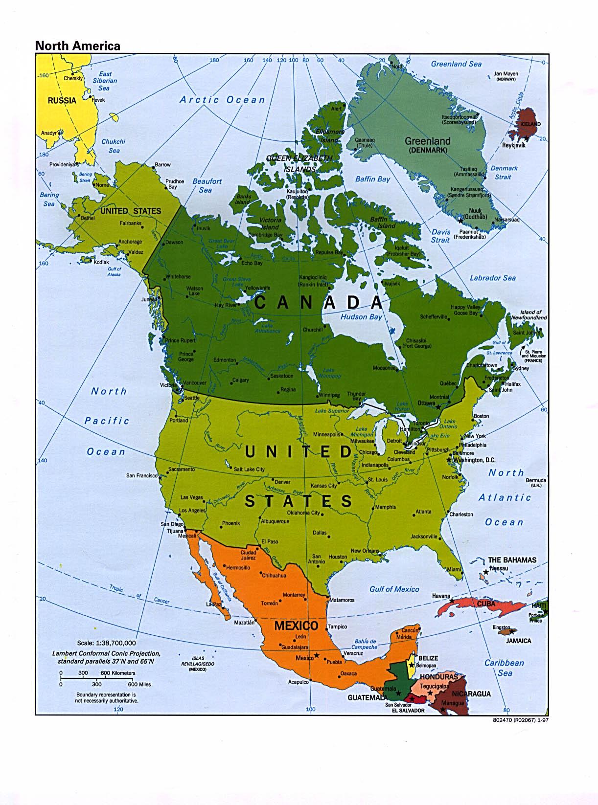 Buscar El Mapa De America