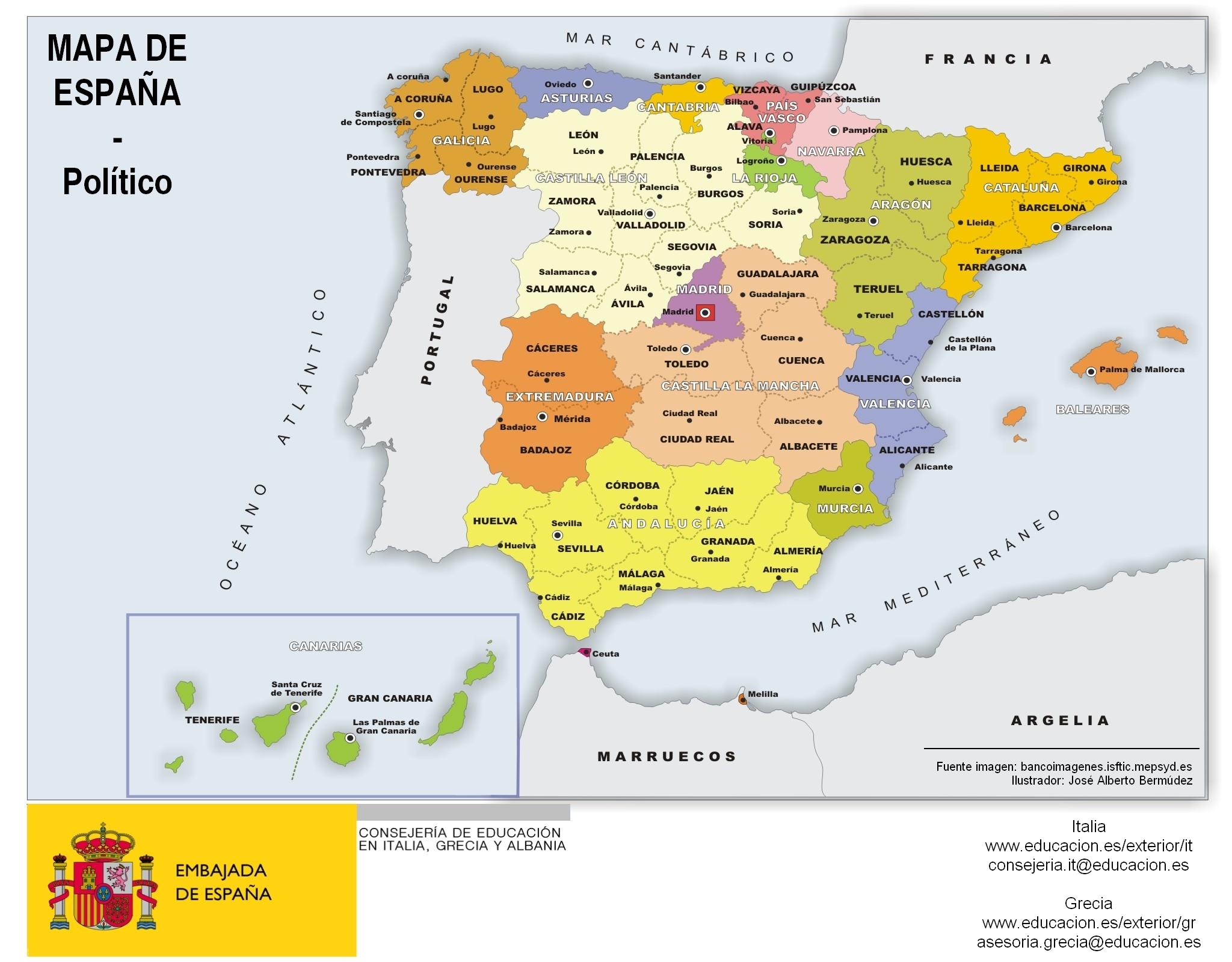 Best 25 Mapa de espaa ideas on Pinterest  Mapa espaa ciudades
