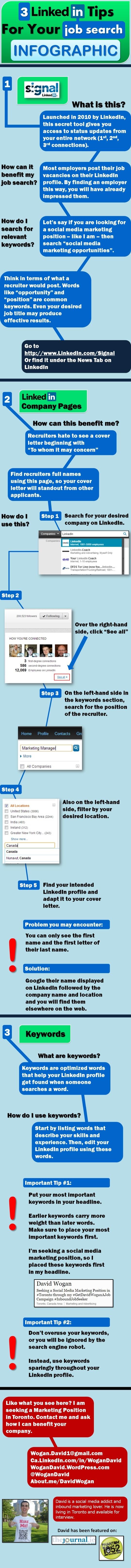 3 consejos para usar Linkedin para buscar trabajo