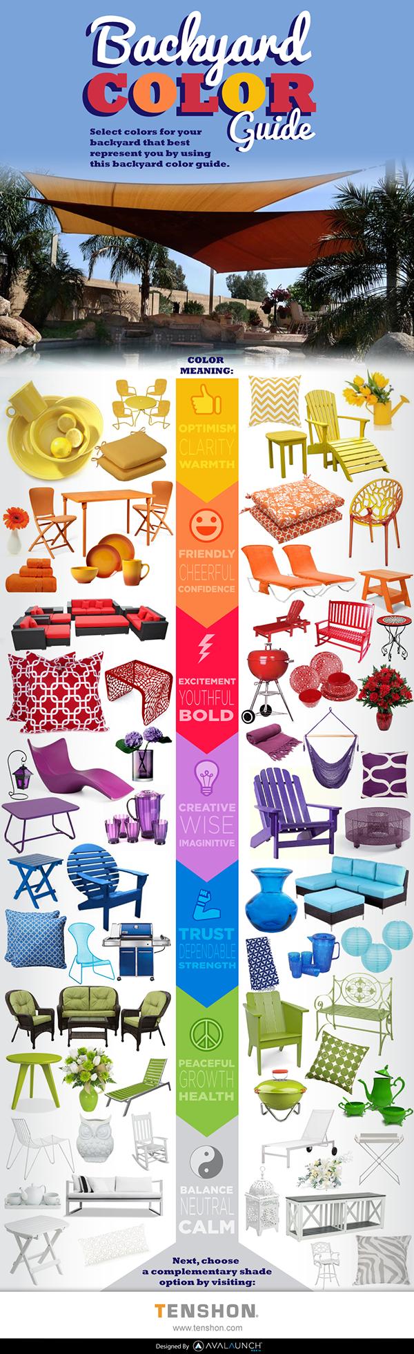 El color en los muebles de exterior significado for Significado de exterior
