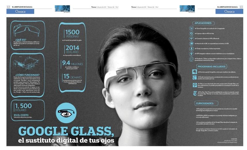 Las gafas de Google: sustituto digital de tus ojos