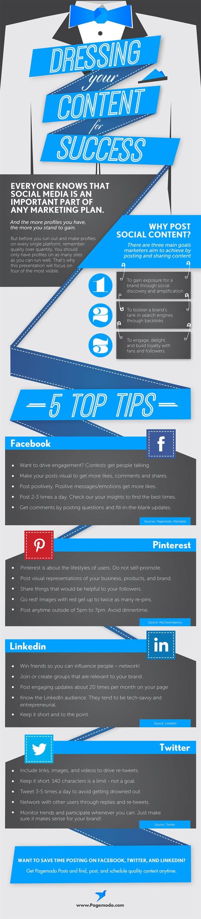 Algunos consejos para publicar en Redes Sociales