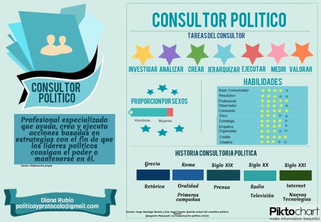 Qué es un consultor político