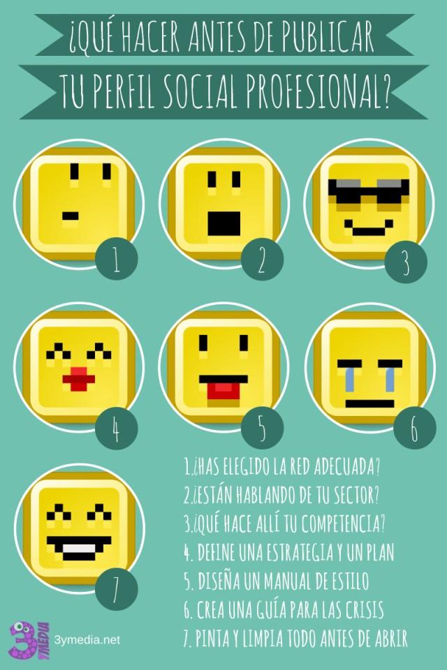 Qué hacer antes de abrir tus perfiles en Redes Sociales