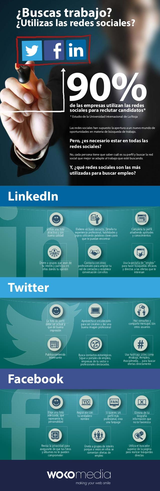 Usa Redes Sociales para buscar #empleo