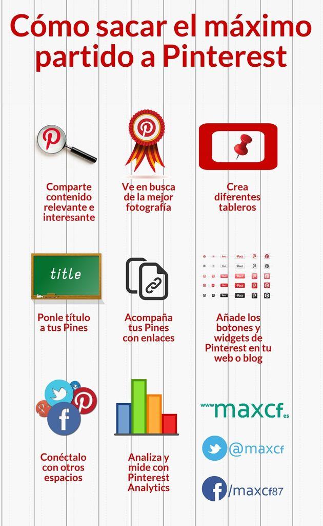 Cómo sacar el máximo partido a Pinterest