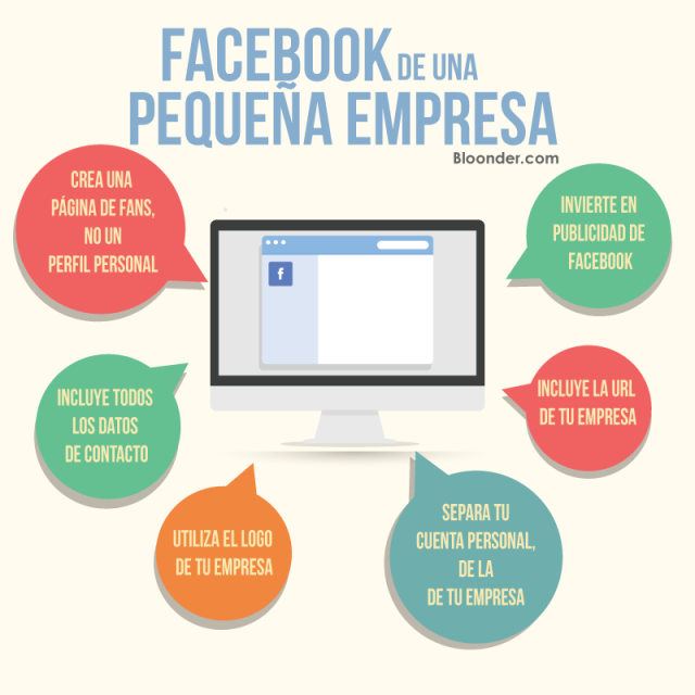 FaceBook de una pequeña empresa