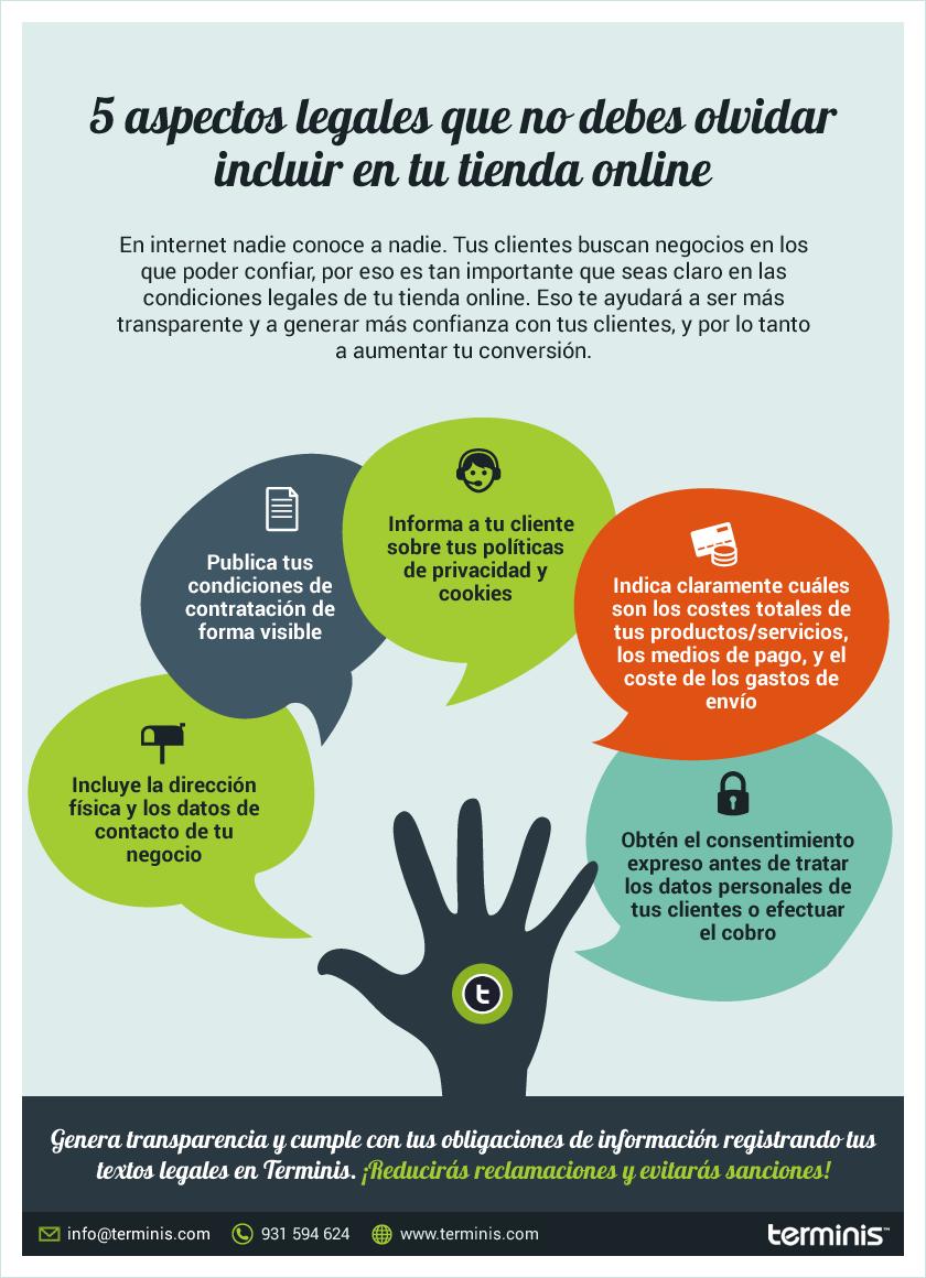 5 aspectos legales que no debes olvidar en tu tienda online