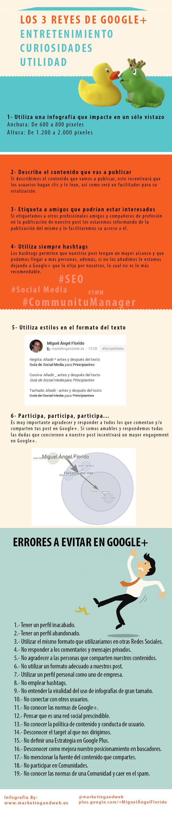 Estrategia en Google +