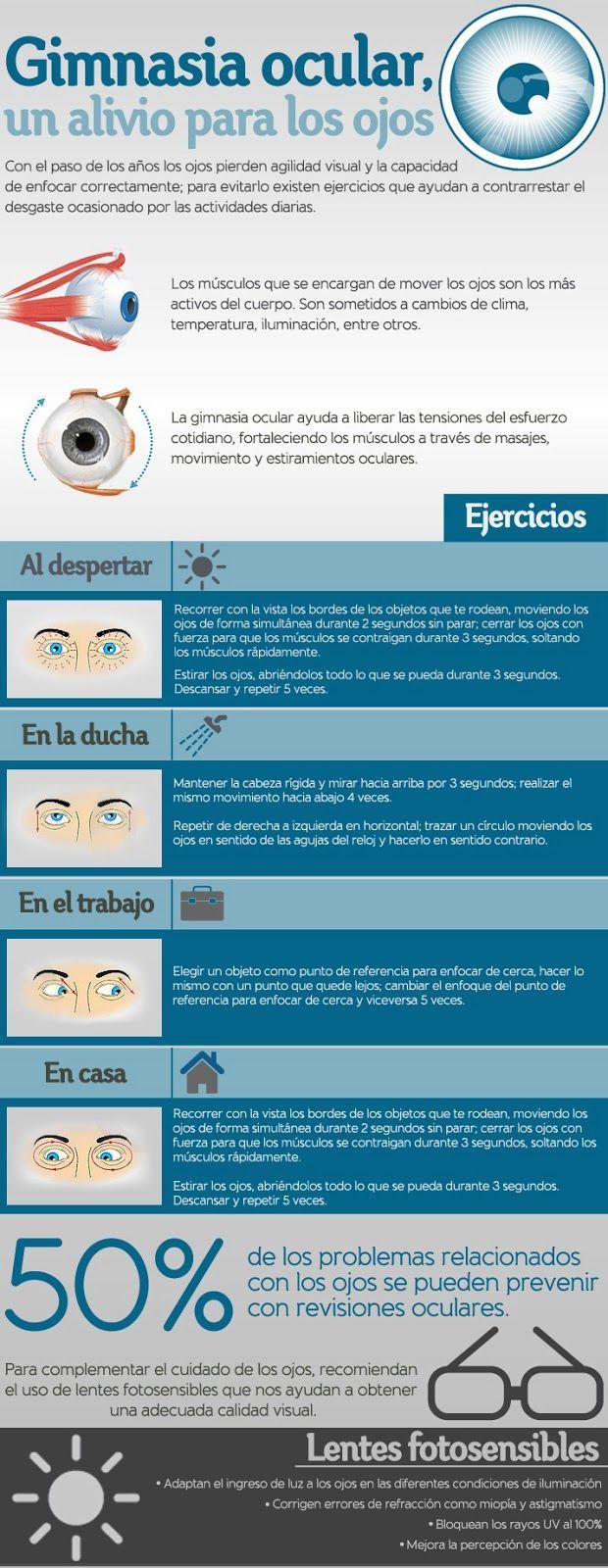 Gimnasia ocular: un alivio para tus ojos