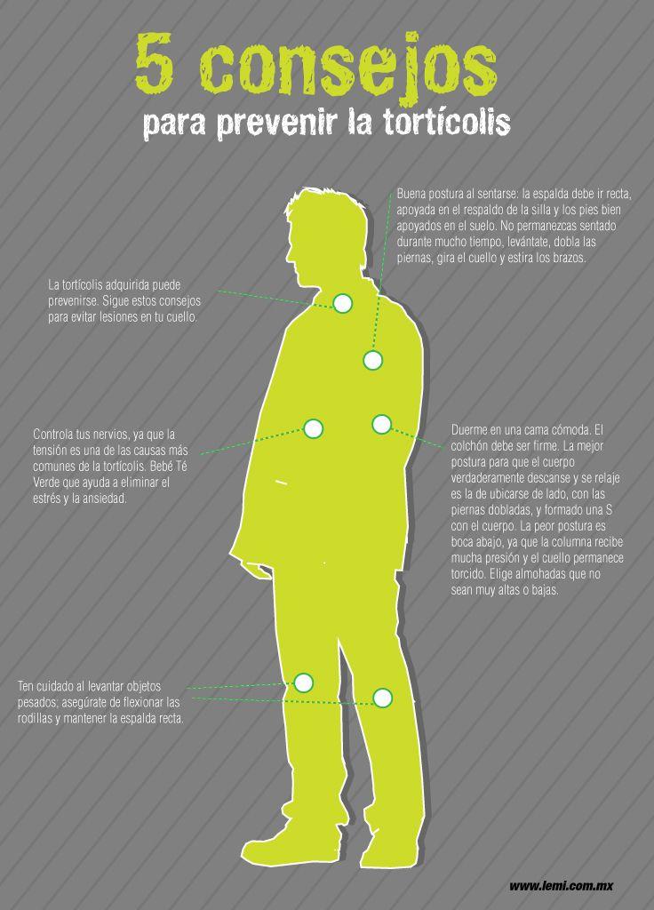 5 consejos para prevenir la tortícolis