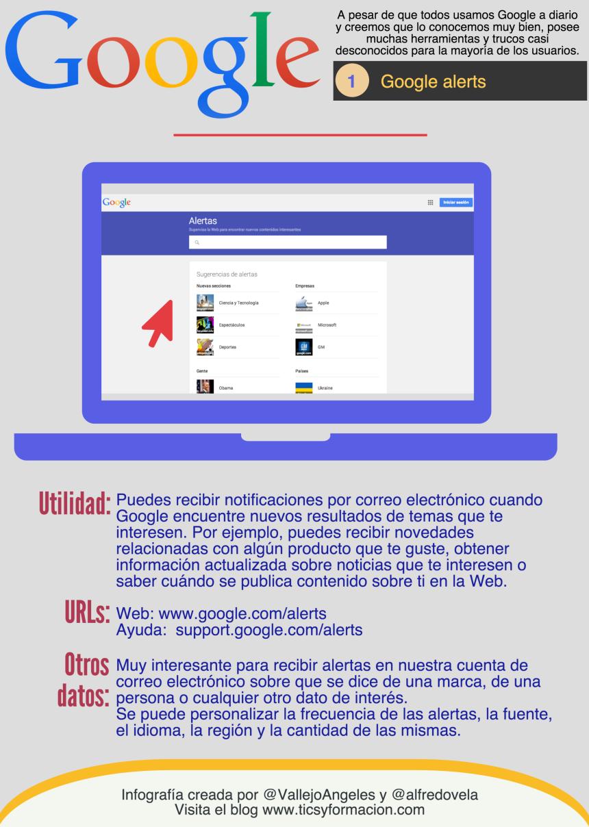 Servicios Google: 01 - Google Alerts