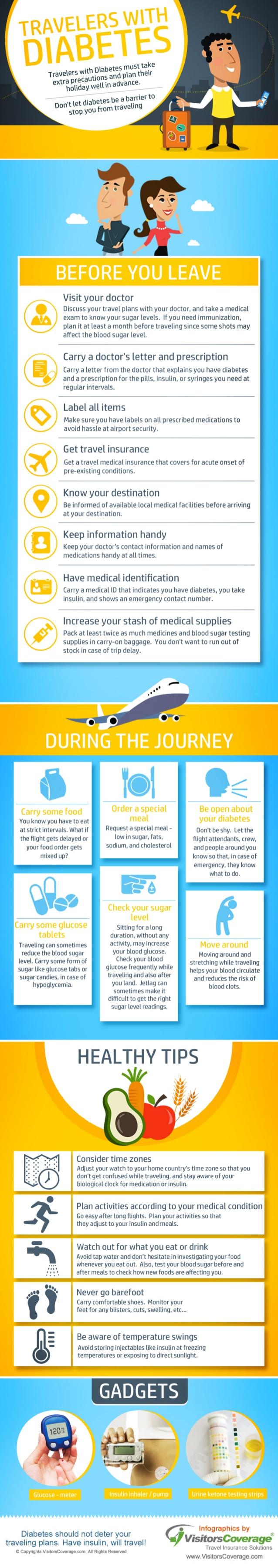 Consejos para viajeros don diabetes