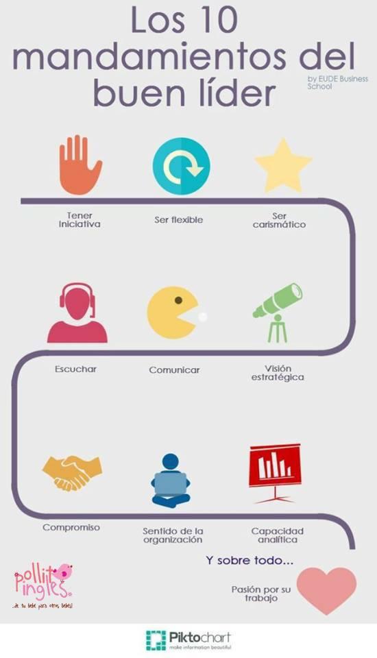 10 mandamientos del buen líder