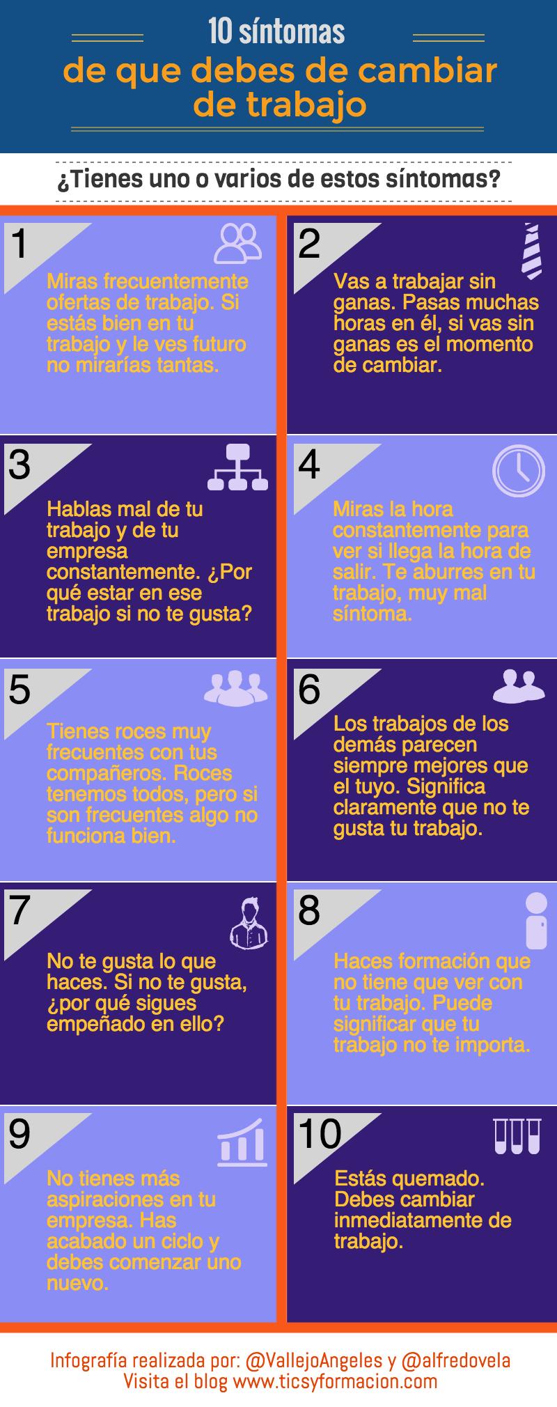 10 síntomas de que debes cambiar de trabajo