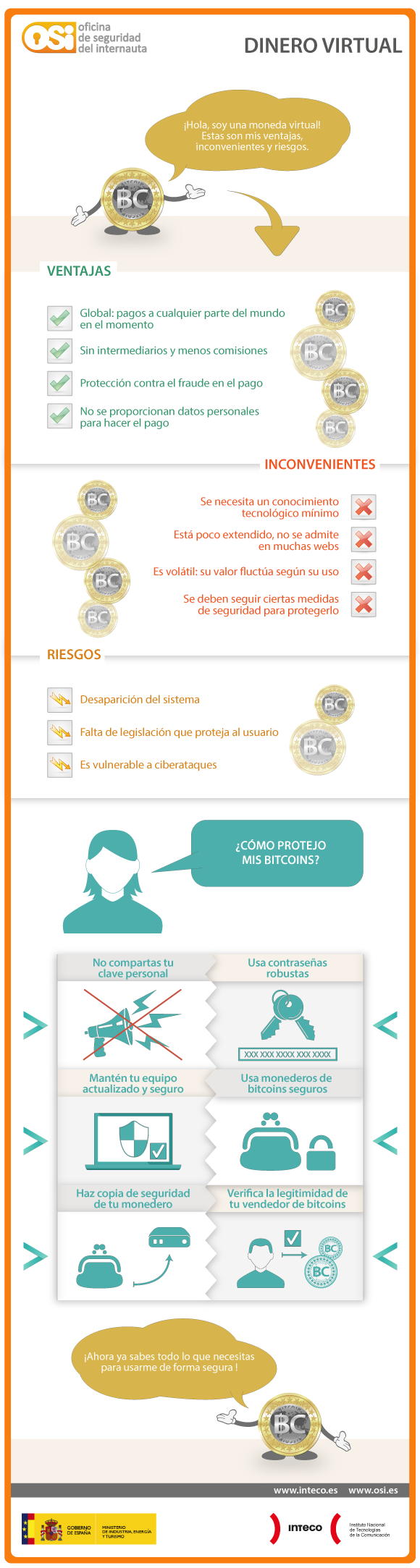 Dinero virtual: Bitcoins