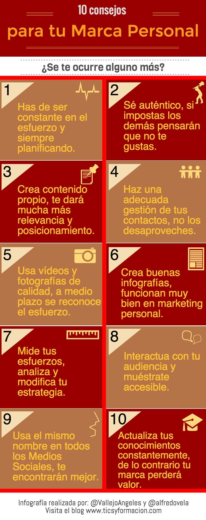 10 consejos para tu Marca Personal