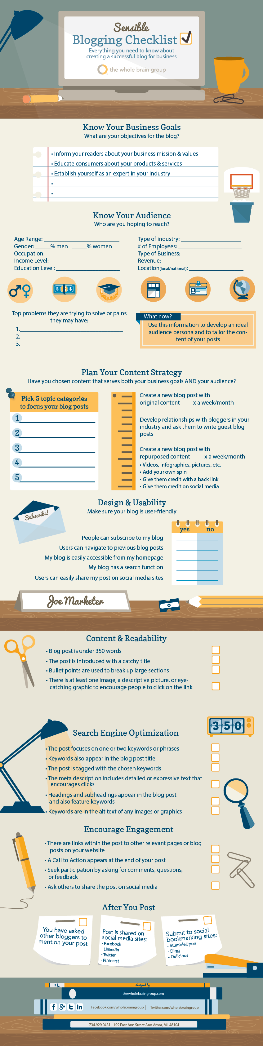 Checklist para tu Blog