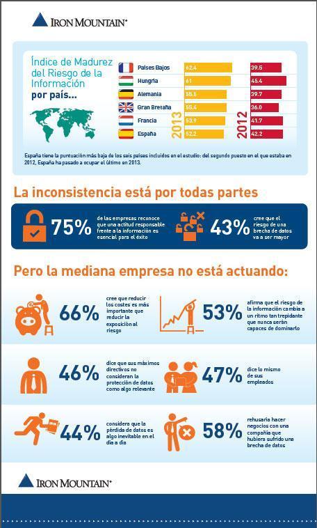 Índice madurez del riesgo de la información 2014