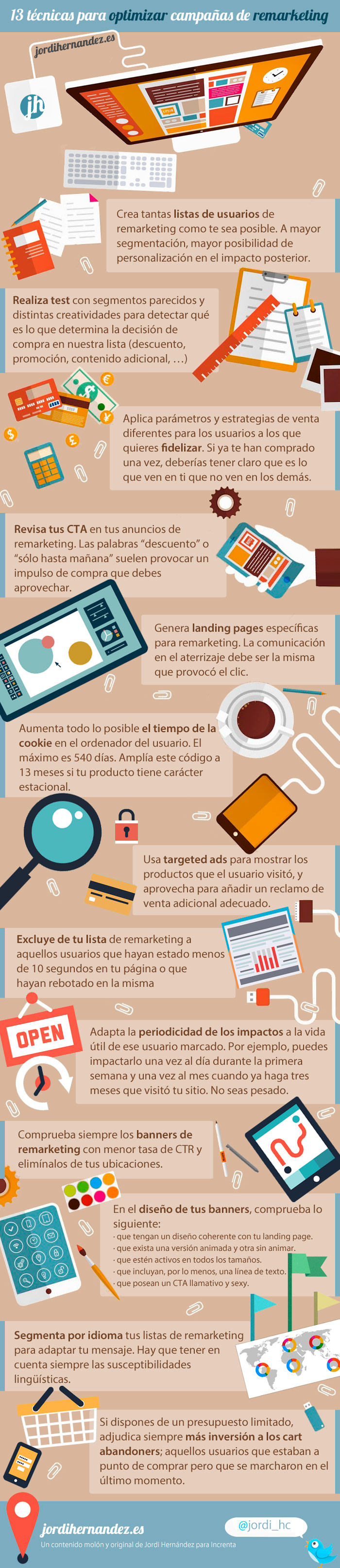 13 técnicas para optimizar campañas de remarketing