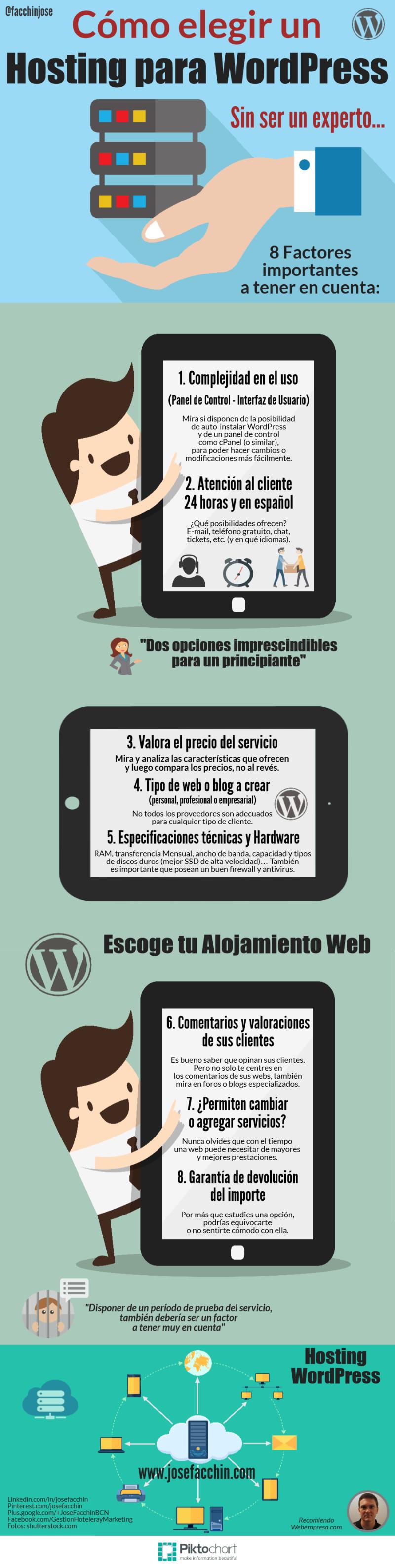 Cómo elegir hosting para WordPress (sin ser experto)