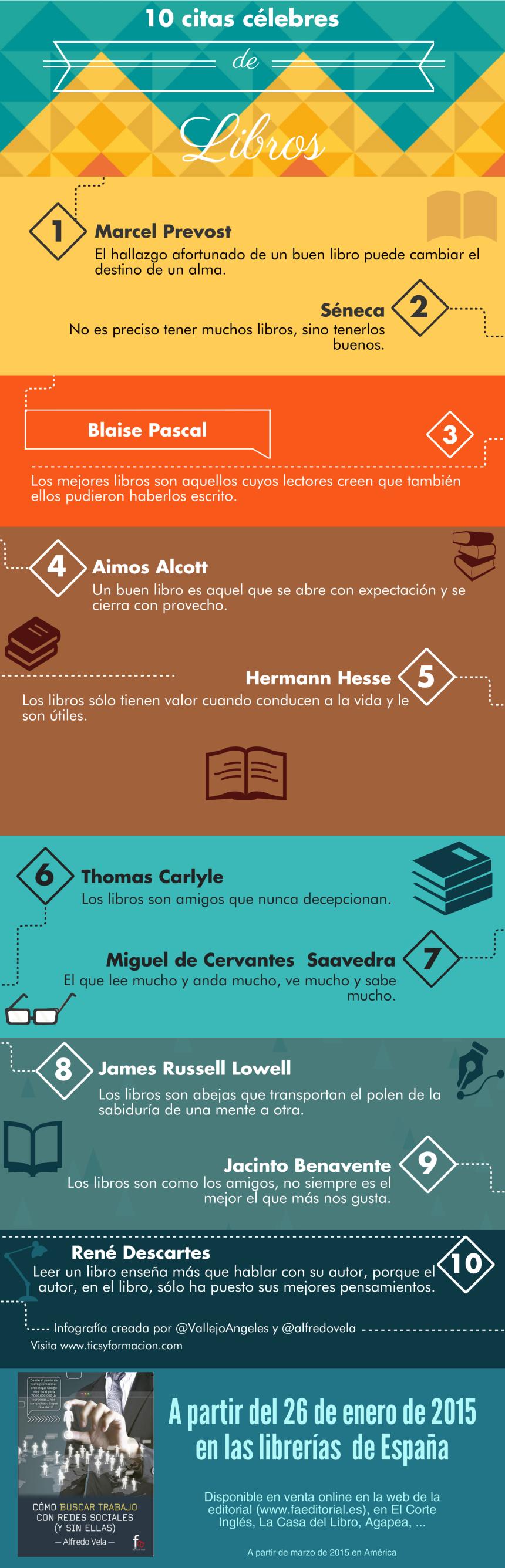 10 citas célebres sobre los libros