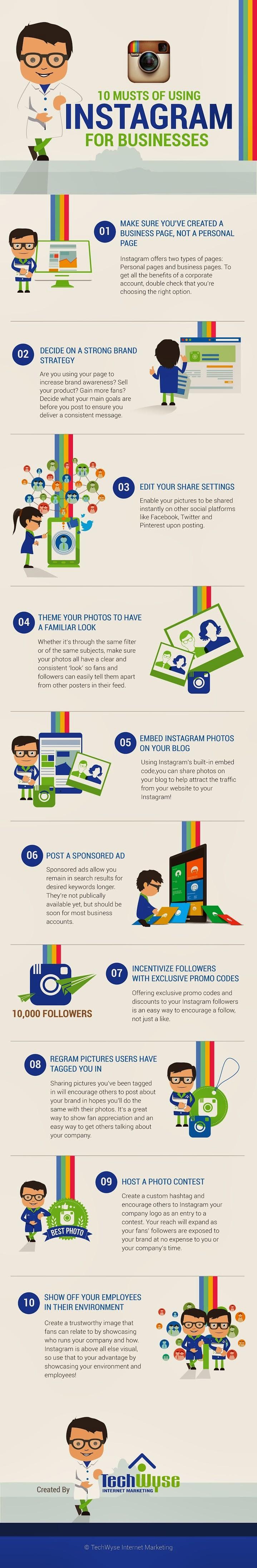 10 razones para usar Instagram para empresas