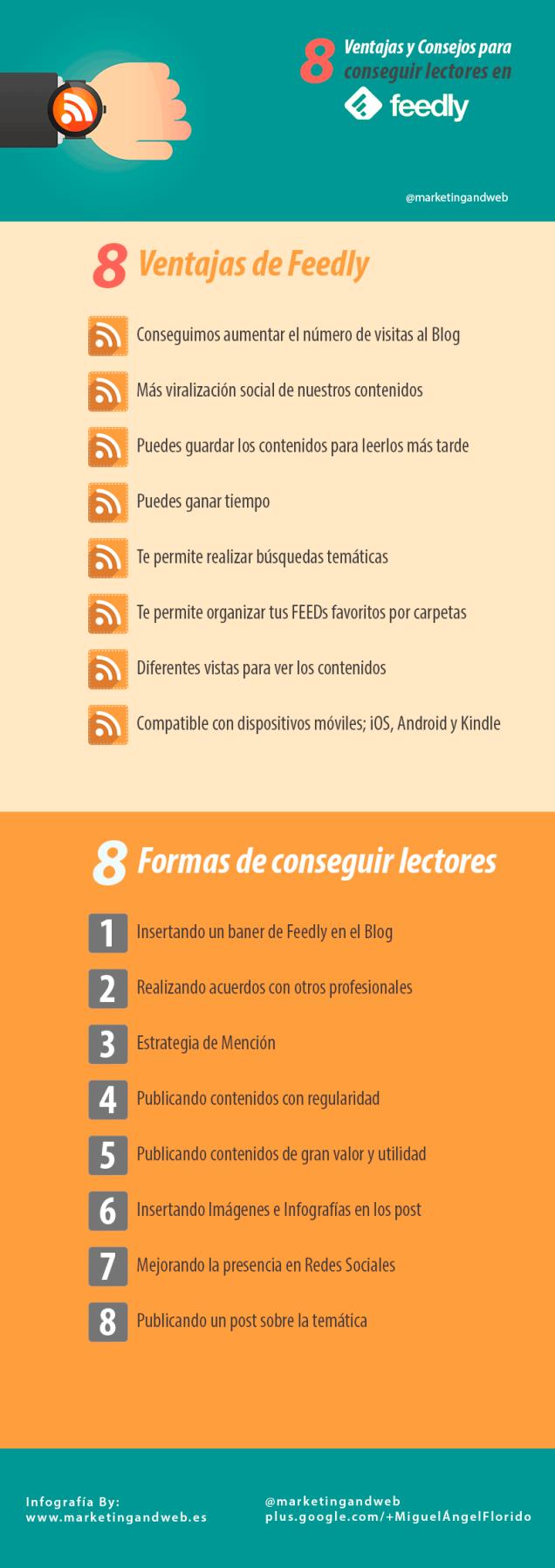 8 ventajas de Feedly + 8 formas de conseguir más lectores