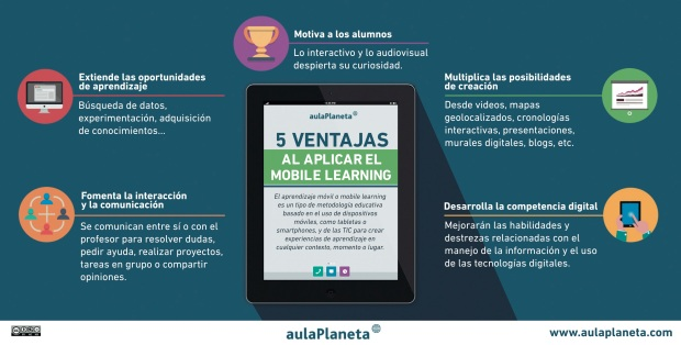 5 ventajas del mobile learning