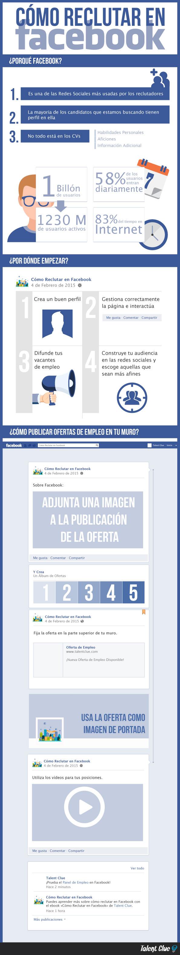 Cómo reclutar en FaceBook