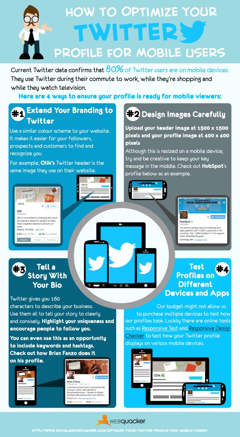 Cómo optimizar Twitter para móvil