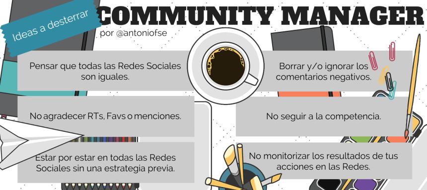 6 ideas a desterrar para un Community Manager