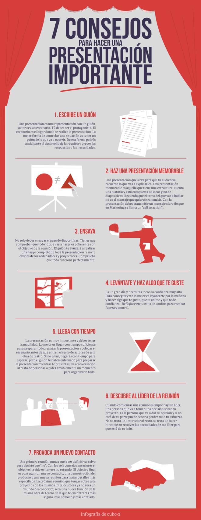 7 consejos para hacer una presentación importante