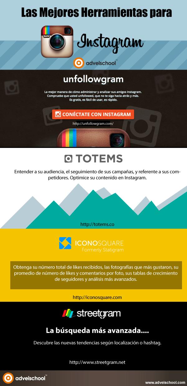 Las mejores herramientas para Instagram
