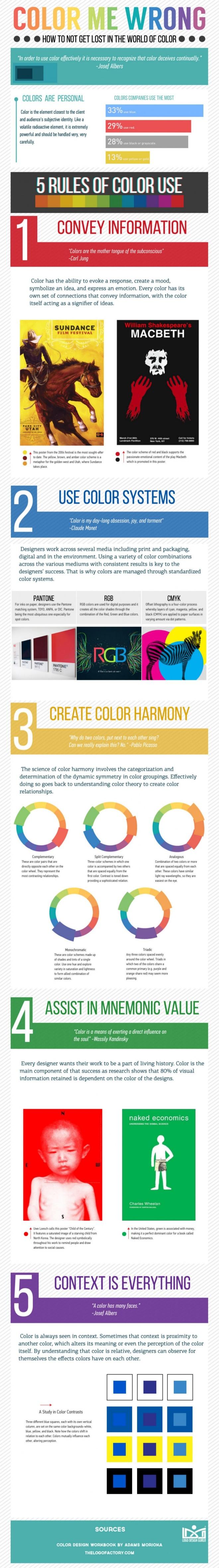 Cómo no perderse en el Mundo del Color