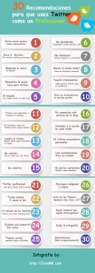 30 recomendaciones para usar Twitter como un profesional