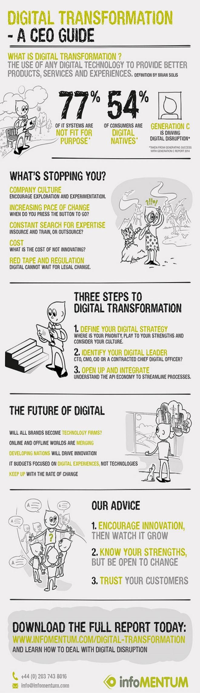 Transformación digital: Guía para el CEO