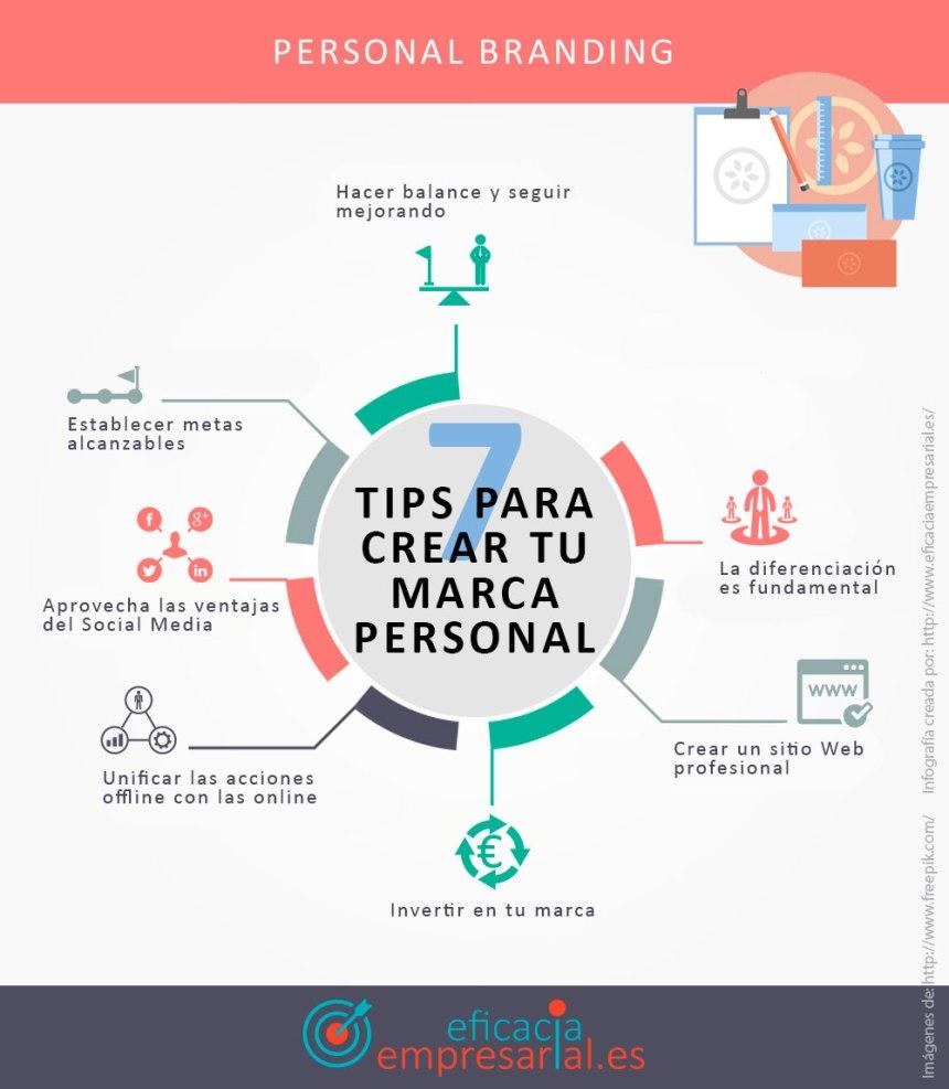 7 consejos para crear tu Marca Personal