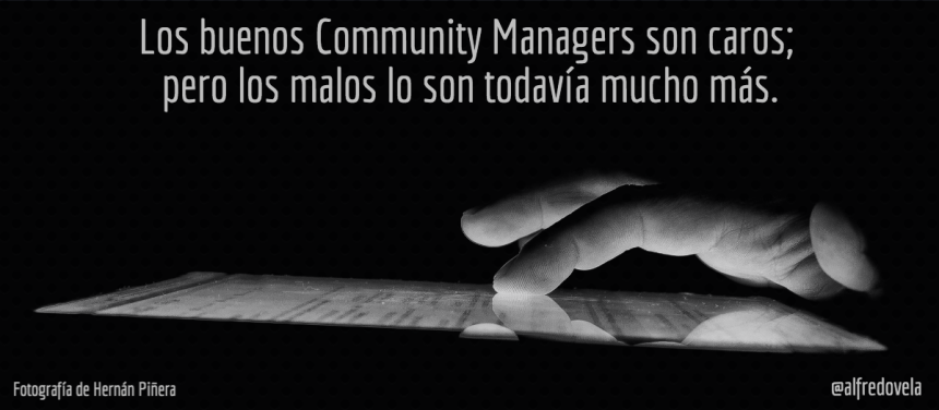 ¿Son caros los Community Manager?