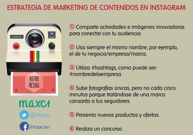 Marketing de contenidos en Instagram