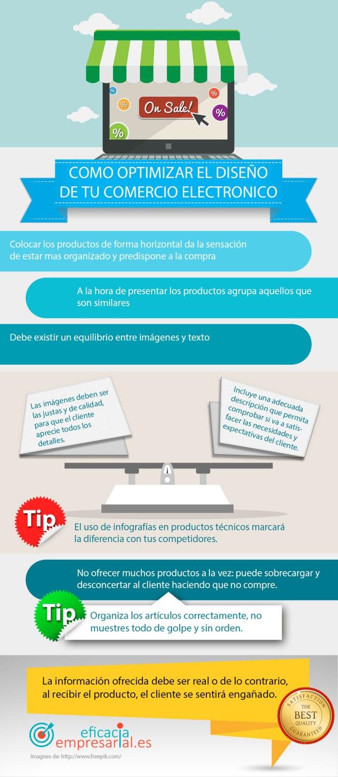 Cómo optimizar el Diseño en tu Comercio Electrónico