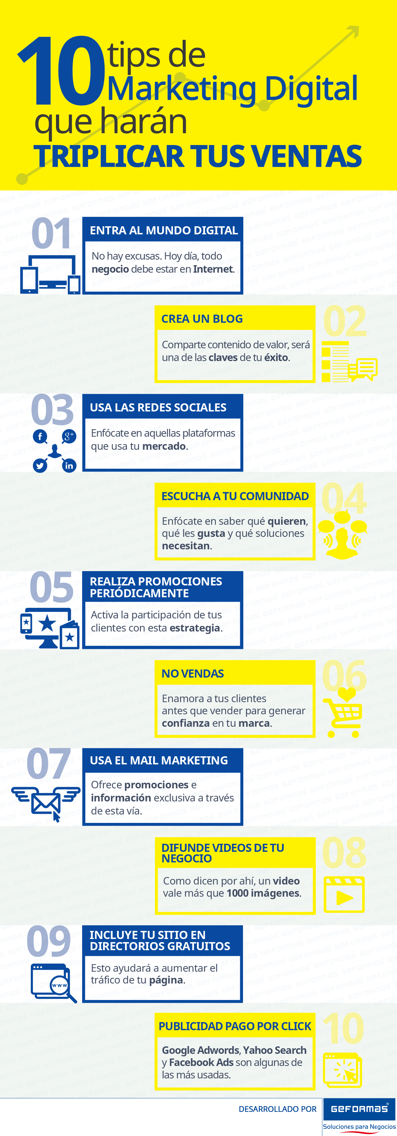 10 consejos de marketing digital para triplicar tus ventas