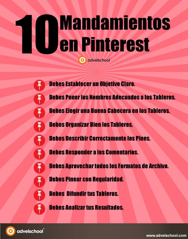 10 mandamientos en Pinterest