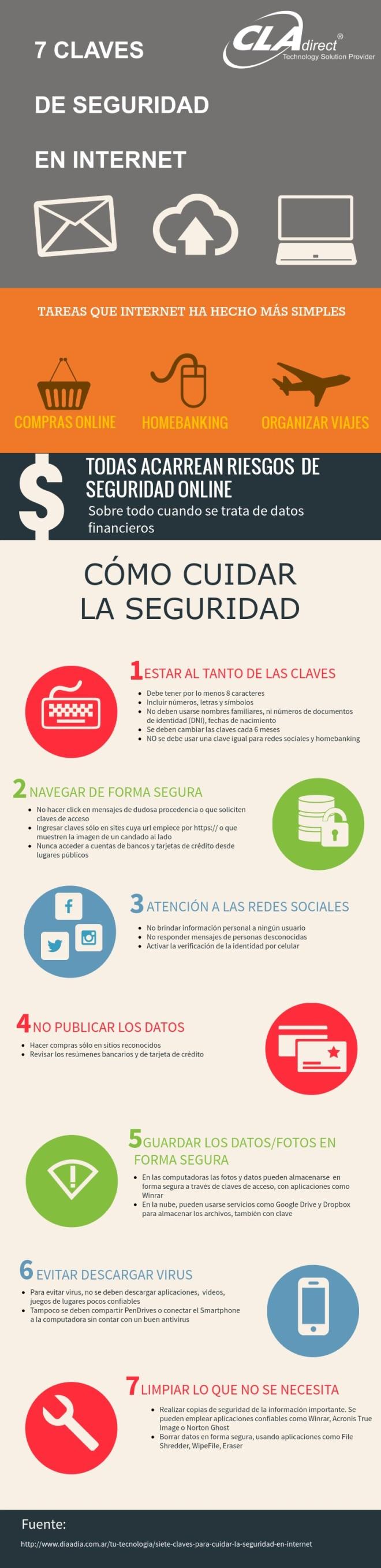 7 claves de seguridad en Internet