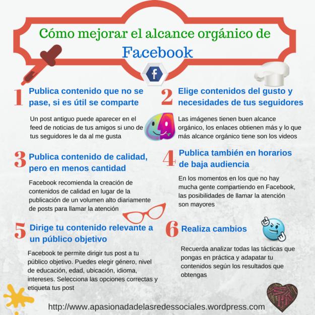 Cómo mejorar el alcance orgánico de FaceBook