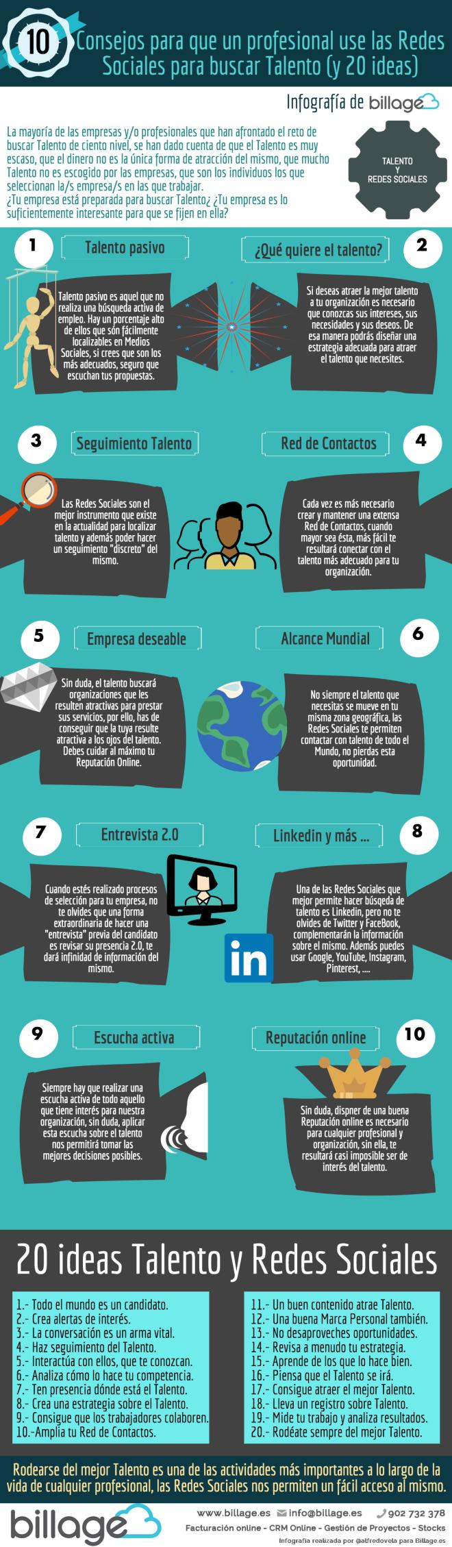 10 consejos para atraer Talento con Redes Sociales (y 20 ideas)