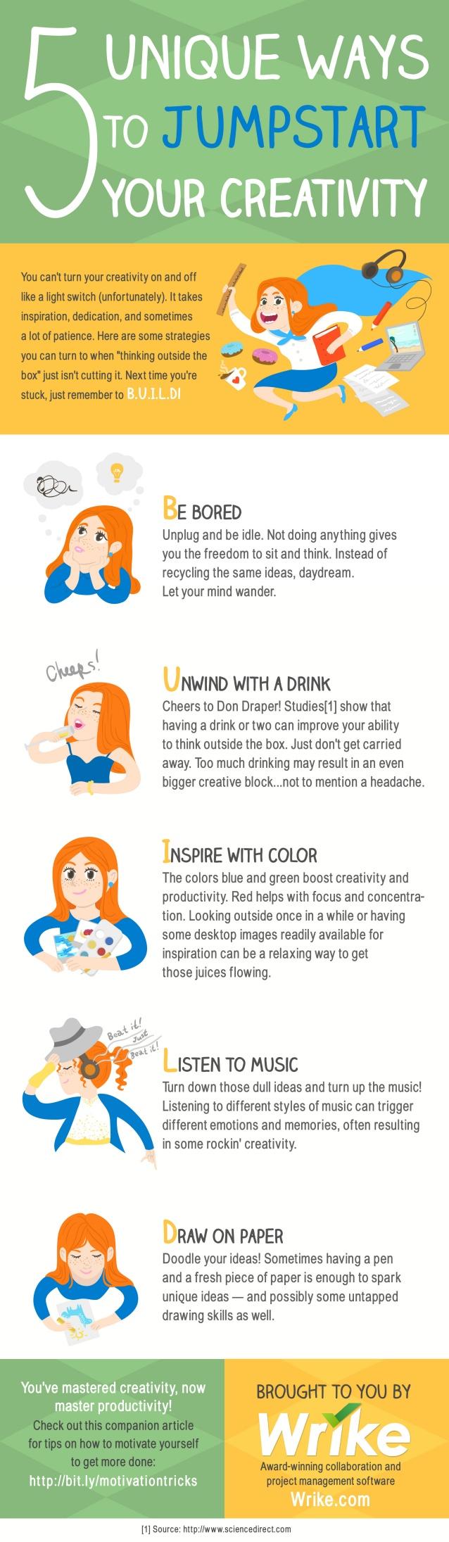 5 maneras de fomentar tu creatividad