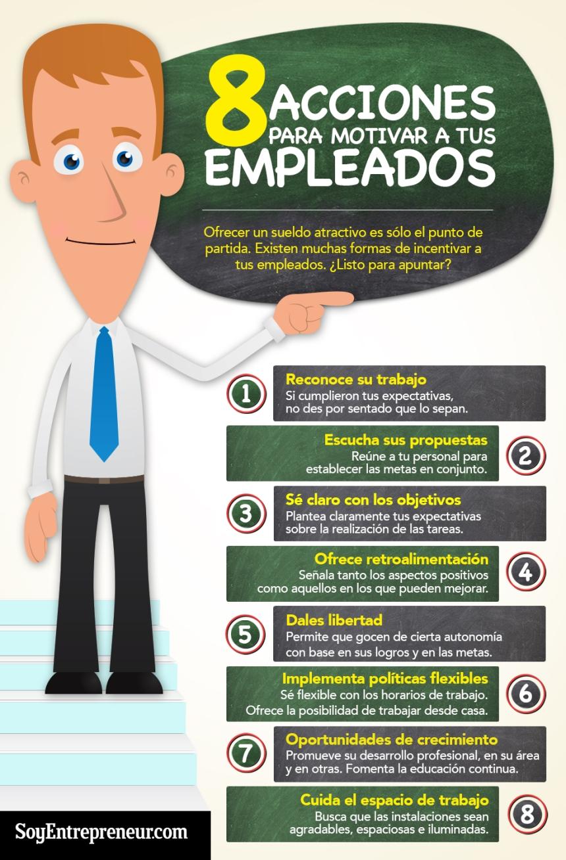 8 acciones para motivar a tus empleados