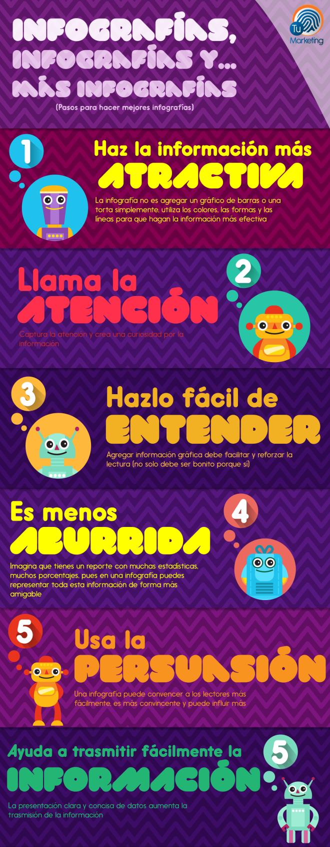 Consejos para hacer mejores infografías